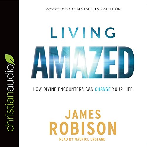 Living Amazed audiobook cover art