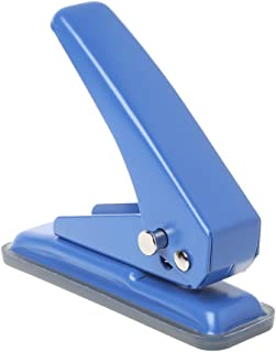 Yajiun Perforatrice 1 Trou Scrapbooking,perforatrice Diamètre De Trou 6mm,capacité De Perforation Papier De 20 Feuilles