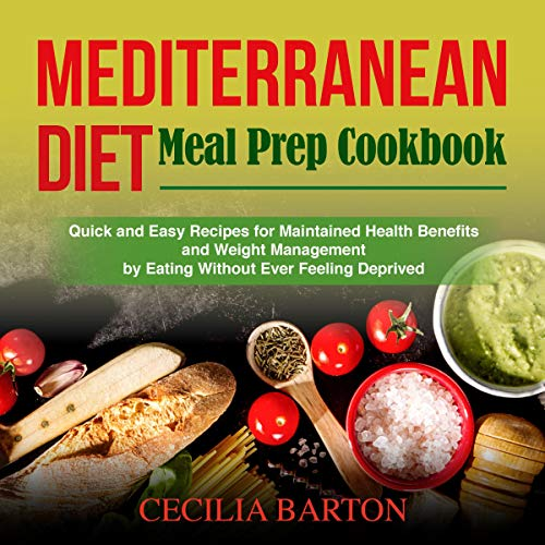 『Mediterranean Diet Meal Prep Cookbook』のカバーアート
