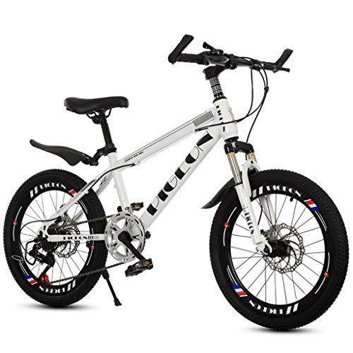 TYPO Bicicletas Niños Bicicleta Bicicleta al Aire Libre para niños Niños Viaje Bicicleta de montaña Bicicleta de Carretera Niños y niñas Velocidad Bicicletas Estudiante Bicicleta de montaña (Colo
