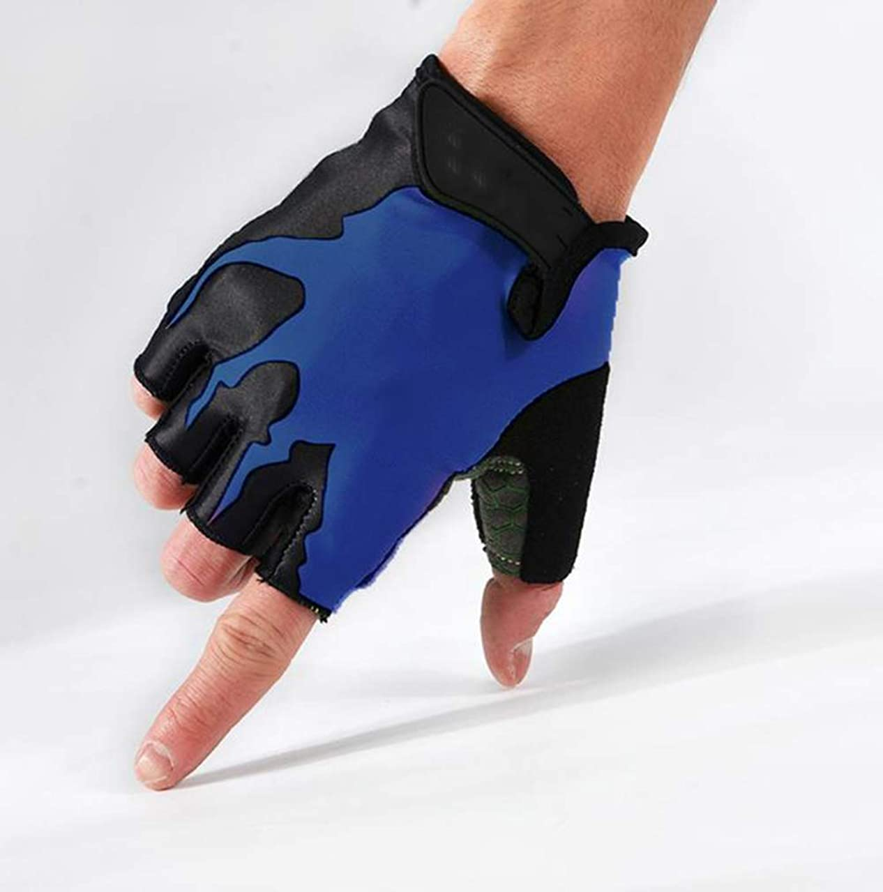 前兆摂氏パレード手袋フィットネス手袋ダンベルトレーニングアウトドアライディング/フィットネス兼用ハーフフィンガーグローブ