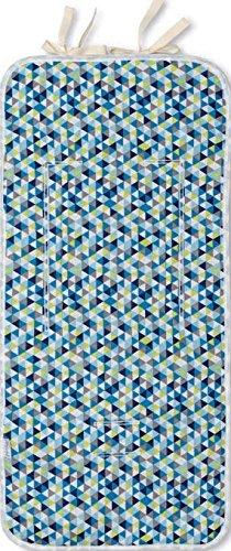 Bright Brands Sportsgoods Matelas droit Microf. 706 Texture 129 07 Tapis de poussette pour enfant