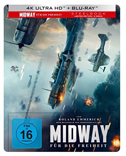 Midway - Für die Freiheit UHD 4K Steelbook (exklusiv bei Amazon.de) [Blu-ray]