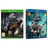 Jurassic World Evolution +Jurassic World: il Regno Distrutto (Blu Ray) - Xbox One