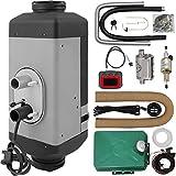 Mophorn Calentador de Aire Diesel 12V 2KW Calentador de Combustible con Kit de Accesorios