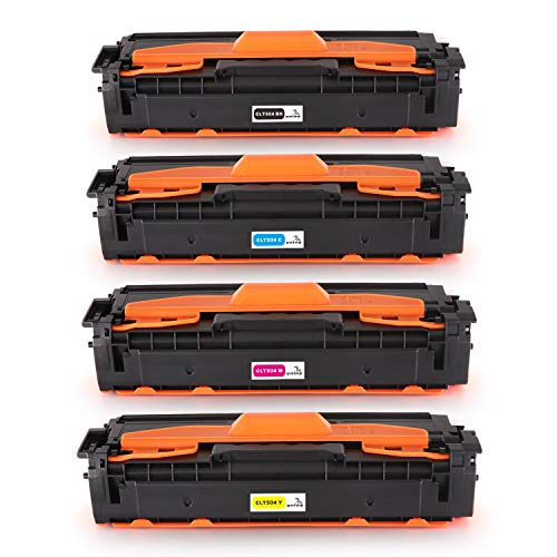ONINO Toner Kompatibel für CLT-P504C CLT-K504S CLT-504 CLT C504S M504S Y504S für Samsung Xpress C1860FW C1810W Toner Samsung C1860 Samsung CLX-4195FW CLX-4195FN CLX 4195 (4pcs)