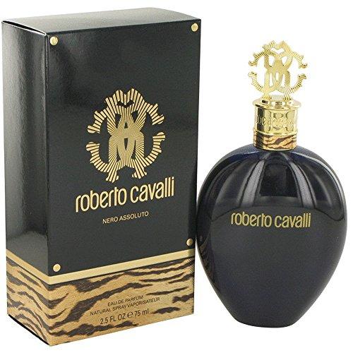 Roberto Cavalli Nero Assoluto EdP 75ml | Damen-Duft | Eau de Parfum | edler Flakon | Versandkostenfrei!
