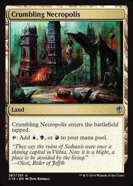 Magic The Gathering - Crumbling Necropolis (287/351) - Commander 2016