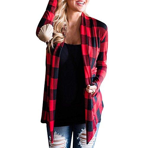 FRAUIT gebreide damesjas met gaas, wol, parka, wintermantel voor dames, gebreid, trenchcoat, kleding, herfst, winterjas, slanke mode, elegant, vrijetijdsstreetwear kleding blouse tops outwear