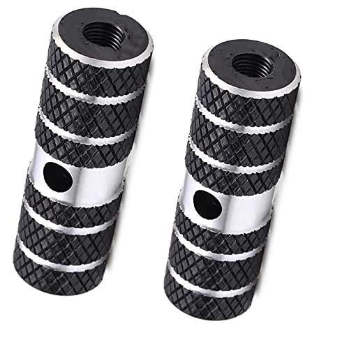 BUMSIEMO Pies de bicicleta de aleación de aluminio de carga universal Pies traseros Pedales truco 1 par