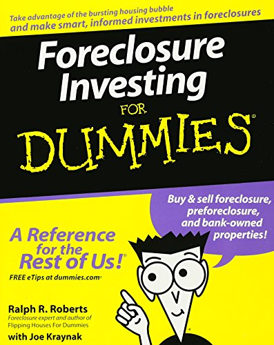 Real Estate Investing Books! - Foreclosure Investing For Dummies