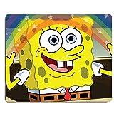 REINDEAR 9.5x8' Cartoon SpongeBob SquarePants Rainbow Mouse Pad Mouse Mat