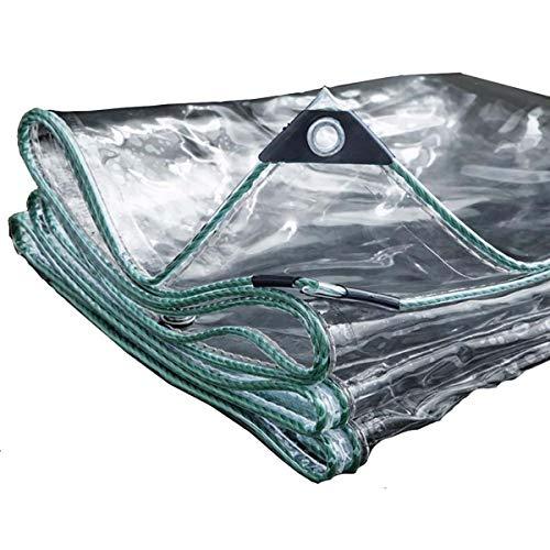 NaDrn Lonas Impermeables Exterior, Lonas para Piscinas, PVC Lona Plastico de Protección Exterior Resistente al Agua y a los Rayos UV para Exterior/Techado/Construcción, 500g/㎡ 0.5mm,1mX5m/16.4x3.3ft