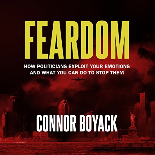 Feardom audiobook cover art