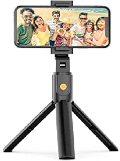 Kongka Selfie Stick, 3 in 1 Extendable Bluetooth Selfie Stick with Detachable Wireless Remote and Tripod, Selfie Stick for...