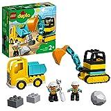LEGO 10931 DuploTown CamiónyExcavadoraconOrugas Juguete de Construcción