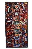 Micuari Cuadro de estambre 60x120cm Arte Wixárika (Huichol) / Yarn Painting 60x120cm Wixárika (Huichol) Art