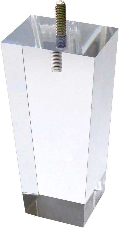 Patas de acrilico para muebles (15 cm, 4p)