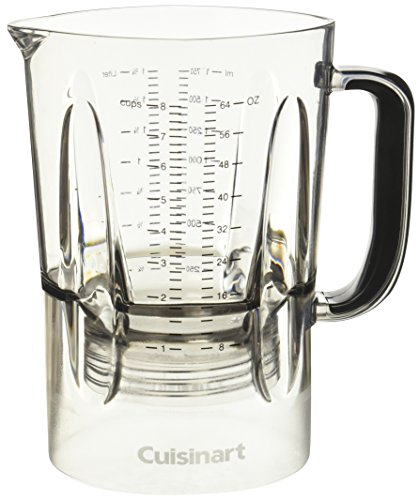Cuisinart cbt-1000jar bisfenol A botella de agua para lavavajillas jarra de batidora, 64oz