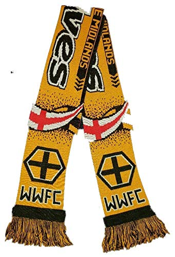 Wolverhampton Wanderers FC | Fan Scarf | Premium Acrylic Knit