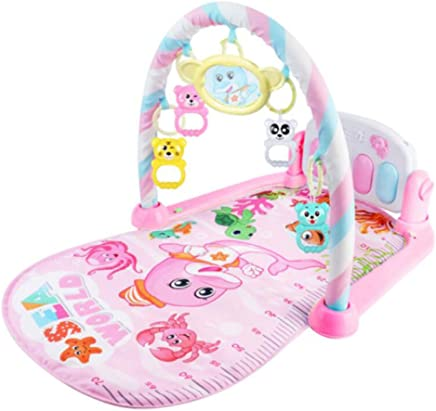 GAOYY Gym New-Born Baby Play Mat with Music and Sounds Activity Mat Discovery Fold