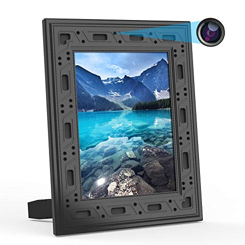 Spy Camera Hidden WiFi Photo Frame 1080P Hidden Security Camera Night Vision and Motion Detect...