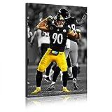 Five-Seller NFL Poster Pittsburgh Steelers # 90 Von TJ Watt