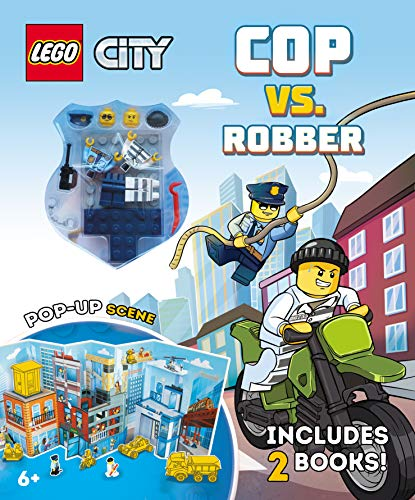 LEGO City High-Speed Chase: Cop vs. Robber Set w/ 2 Books, 2 LEGO Minifigures & Pop-Up Play Scene $9.29 & More + FS w/ Amazon Prime or FS on $25+