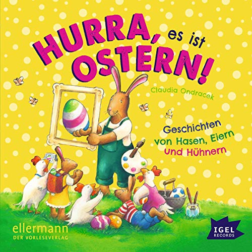 Hurra, es ist Ostern! audiobook cover art