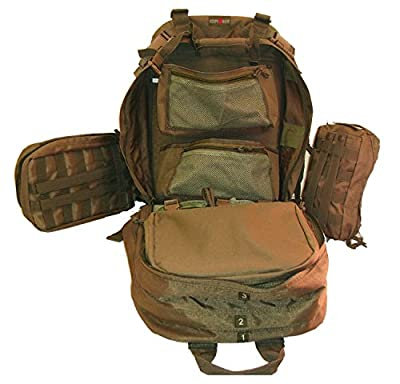 EXPLORER Military Tactical Backpack Army Assault Pack Molle Medic Bug Out Hydration Assault Rucksack Outdoor Sport Travel Trekking Hiking Camping Hunting School Day Pack