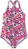 RED WAGON Multifloral SwimsuitNuoto Bambina, Rosa (Pink), 110 (Taglia Produttore: 5 Anni)