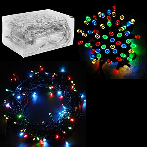 30 Mini Bulb LED Battery Operated Fairy String Lights in Assorted Colors for Valentines Day, Romantic Wedding, Home Decoration Room Lighting, Christmas, Crafts (158 inch Long String)