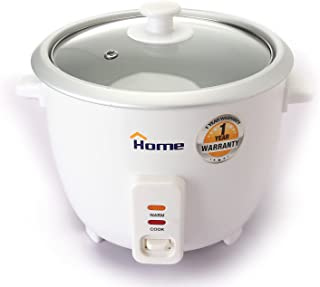 Home DU118 Rice Cooker 1.8 Liter keep Warm Function - White