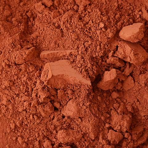 Puisaye Red Ochre Natural Mineral Pigment – Pigments for Artistic and Decorative Painting, Concrete, Clay, Lime, Plaster, Masonry and Paint Products (150 ML | 5 OZ)