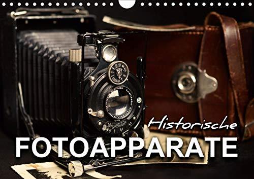 Historische Fotoapparate (Wandkalender 2021 DIN A4 quer)
