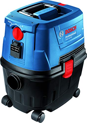 Bosch GAS 15 Professional PS – Wet & Dry Extractor/Vacuum...