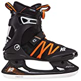 K2 Herren Schlittschuhe Fit Ice Boa - Schwarz-Orange - EU: 36.5 (US: 5 - UK: 4) - 25B0001.1.1.050