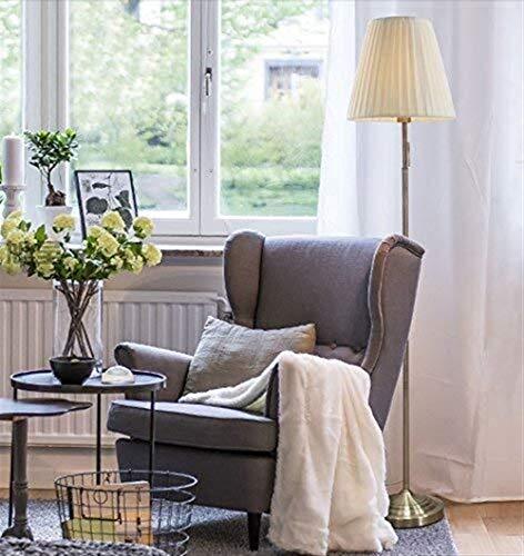 YHtech Lámparas de pie, Led Living creativo sencillo dormitorio dormitorio de la lámpara vertical, Eye-Cuidado Vertical luz del piso