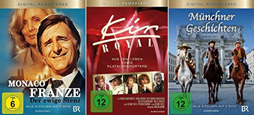 Helmut Dietl Set - Monaco Franze, Kir Royal, Münchner Geschichten - Deutsche Originalware [8 DVDs]