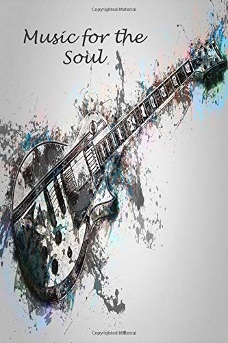 Music for the Soul: Music theme notebook to write in, lined pages, for men women boys girls who love music, perfect gift for any music lover