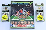 Panini Adrenalyn Road to UEFA Euro 2020 Sammelmappe + 2 Blister inklusive Karten Limited Edition -