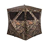 Ameristep Caretaker Magnum Hunting Blind | 3 Person Ground Blind in Mossy Oak Break-Up Country, One Size (AMEBL3032)