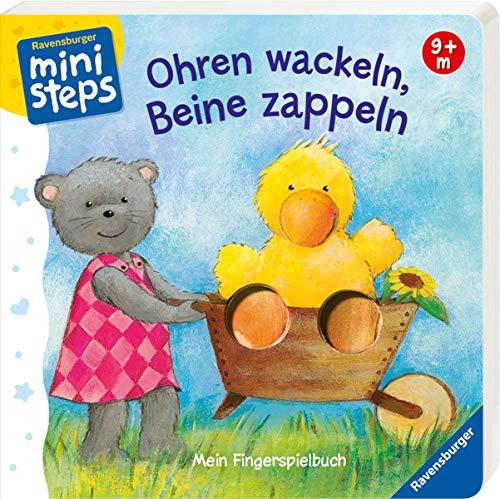 ministeps Bücher: Ohren wackeln, Beine zappeln: Ab 9 Monaten