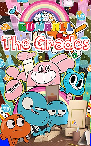 Amazing world of gumball book: The Grades _ Gumball comics (English Edition)