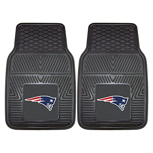 FANMATS 8754 NFL New England Patriots Vinyl Heavy Duty Car Mat,18'x27'