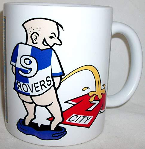 Wee On Funny Football Team Shirt Bristol Fan Rivalry Tea Coffee Mug (Rovers (weeing on city))