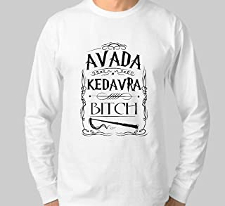 Camiseta Manga Comprida Longa Avada Kedavra - Harry Potter