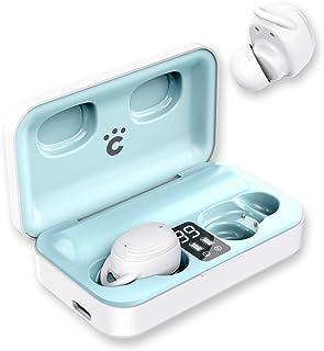 ワイヤレスイヤホン cheero Wireless Earphones powered by Qualcomm®aptX™ audio technology Bluetooth 5.1 自動ペアリング 高音質 CVC8.0 ノイズキャンセリング...