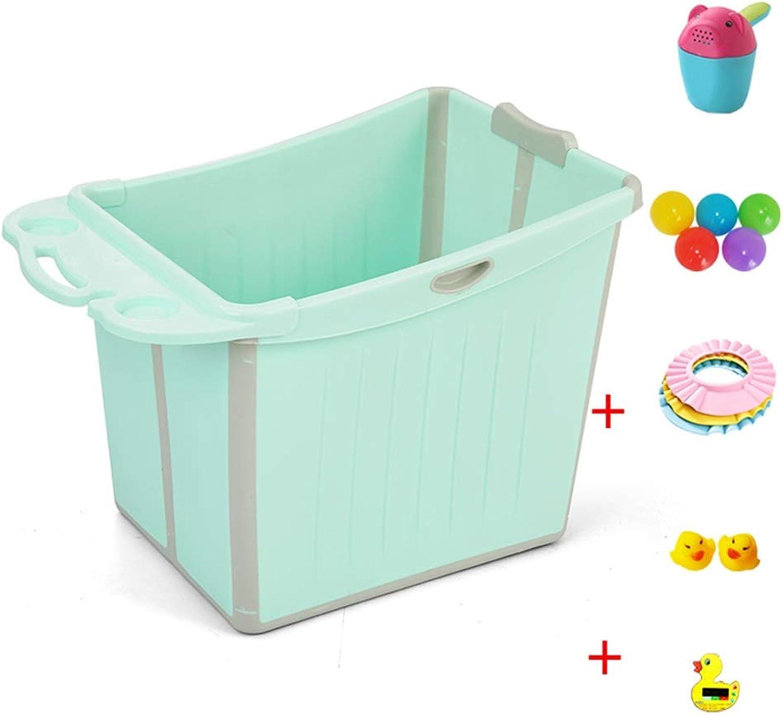 Aufblasbare Badewanne Faltende Babywannekinder, Die Eimer Babybadewanne Schwimmen, Badende Badewanne Badewanne Kann Sitzen (Farbe   B, gre   1)