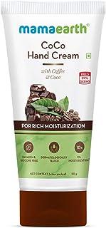Mamaearth CoCo Hand Cream with Coffee & Cocoa for Rich Moisturization – 50g